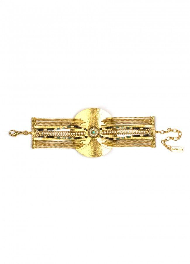 bracelet Tender Tiger Satellite_AF29/O_doré