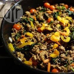 Thai Chicken and Basil Salad @ allrecipes.com.au