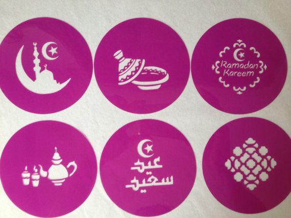 Eid saeed  mubarak ramadan kareem cookie stencil   by Stenciland, $8.99