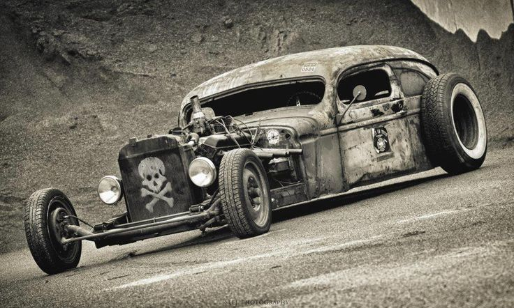Rat rod. Some of them are real cool.