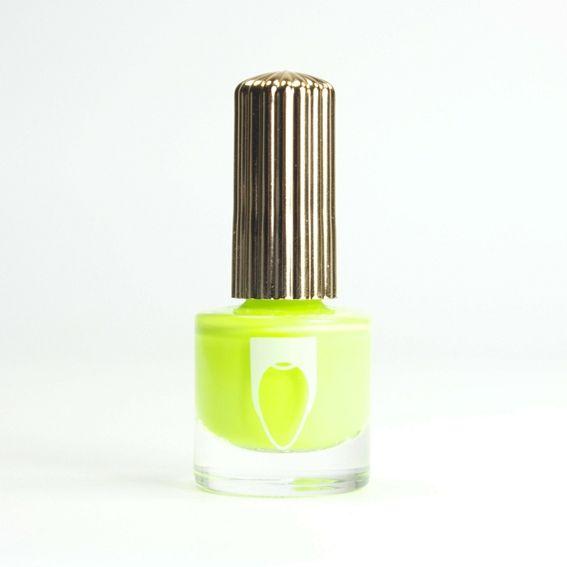 FLOSS GLOSS Con Limon, vernis jaune vert néon sur Bec et Ongles €8