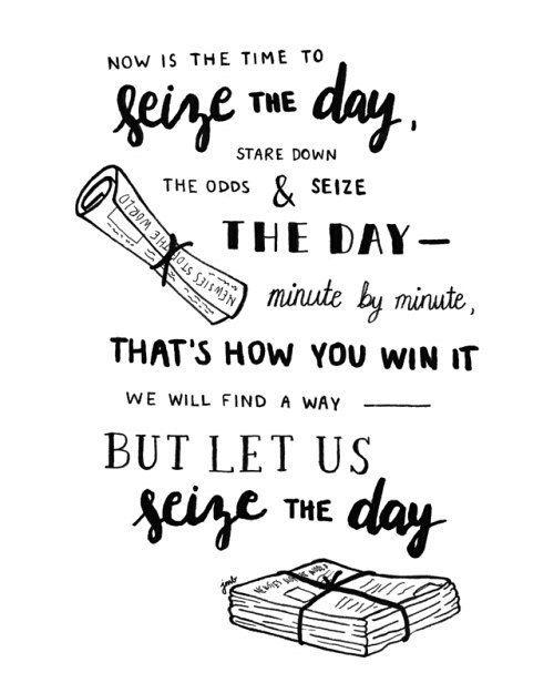 Newsies - Seize the Day