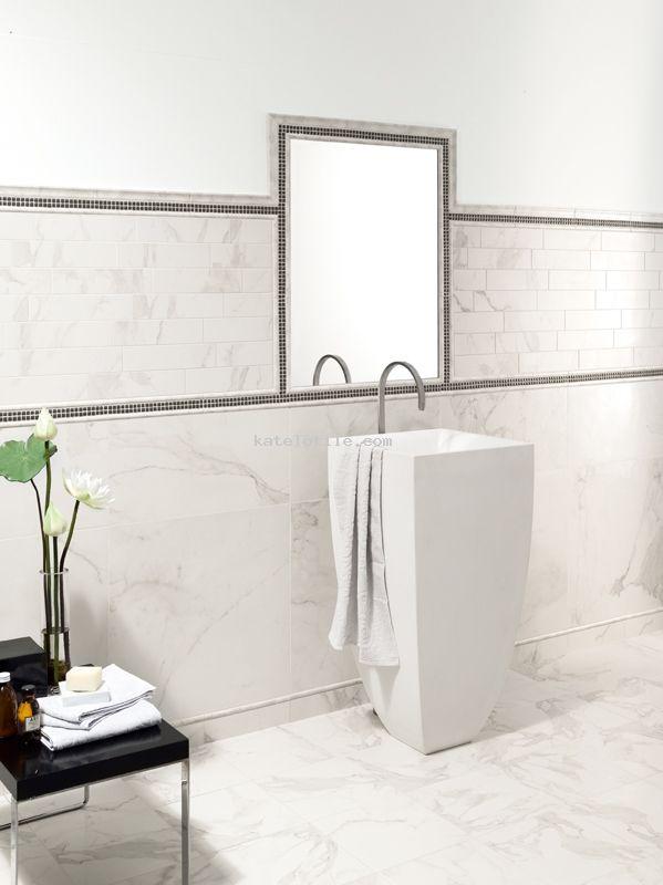 Honed Porcelain Tile Calacatta Vintage 3x12 12x24 Bathroom Tile Bathroom Remodel Ideas