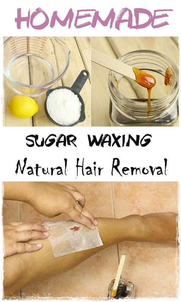 how to use sugar wax without strips