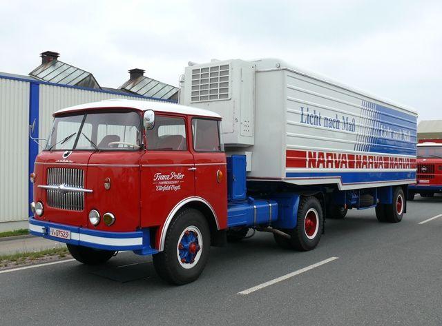 Škoda 706 RTTN a RTC na silnicích v Německu | index | Staré náklaďáky