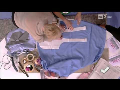 Detto Fatto - L'arte del cucito con la nuova tutor Anna Borrelli 08/11/2013 - YouTube