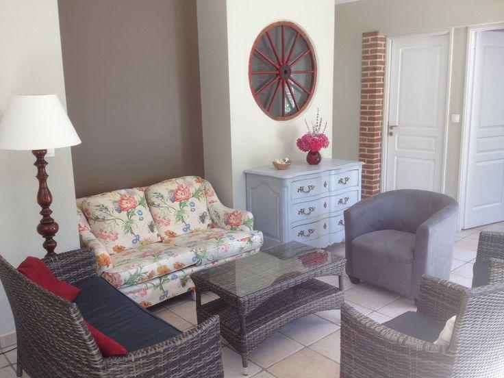 Le coin salon Le Clos du Hêtre, lounge area