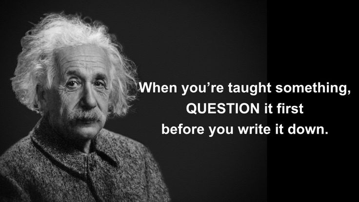 It's okay if you have no idea what e=mc2 means. You can still learn something from Einstein.
