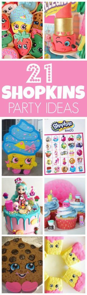 21 Adorable Shopkins Party Ideas | Pretty My Party