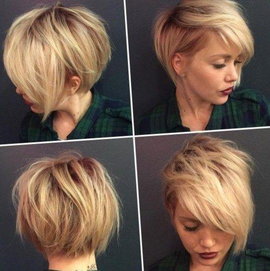 Short hairstyles will never be outdated, as long as people are still simple