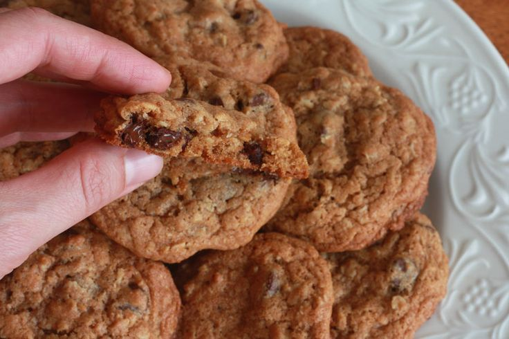 Todd's Famous Whole Wheat Oatmeal Chocolate Chip Cookies | Recipe