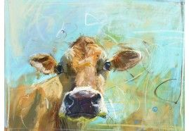 Jersey cow 2