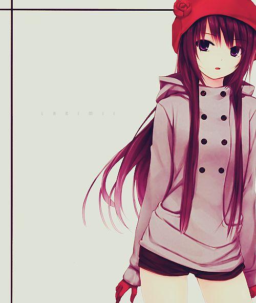 cute anime girl   Tumblr   We Heart It