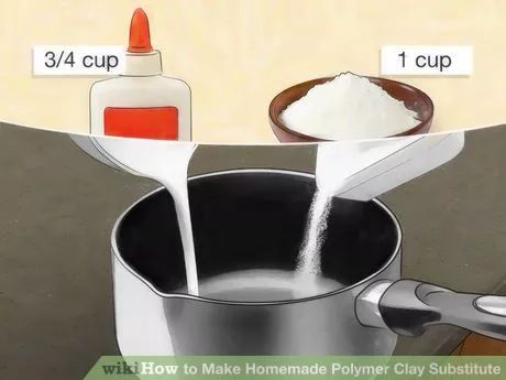 Image titled Make Homemade Polymer Clay Substitute Step 2