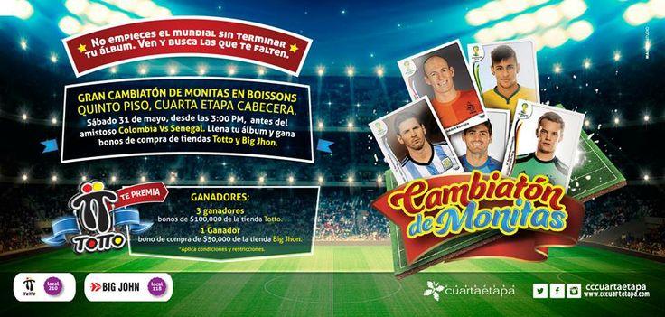 #evento #junio #cambiaton #cccuartaetapa