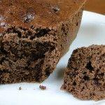 Proteínový čokoládový koláč z mikrovlnky