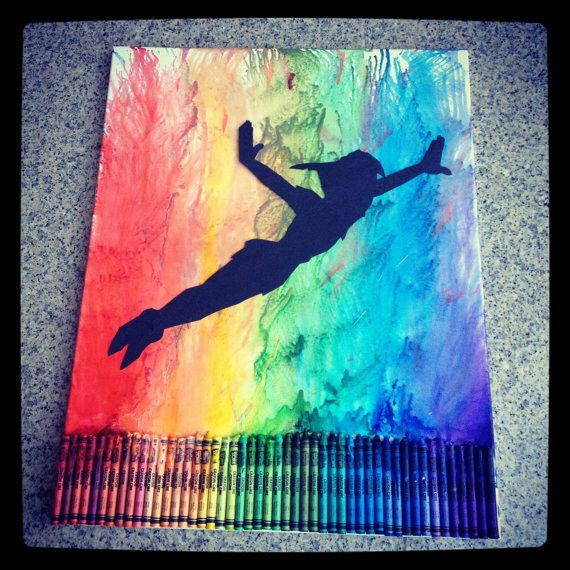 unique crayon art ideas images
