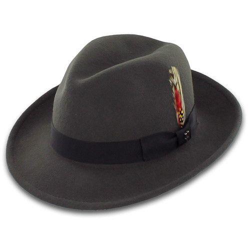 836c258e22012b Belfry Bogart - Classic Wool Fedora | My Style | Fedora hat, Wool ...