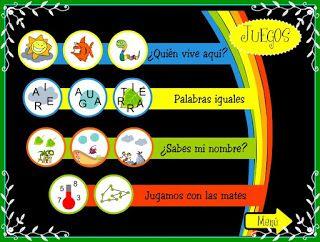 JUEGOS EDUCATIVOS PARA NIÑOS DE 3 A 5 AÑOS: Actividades para 4 y 5 años.
