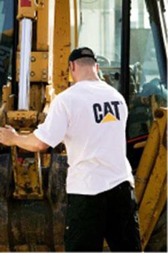 Tee-shirt blanc Caterpillar - Code produit: 3133285 - Cliquez sur la photo pour voir la fiche produit