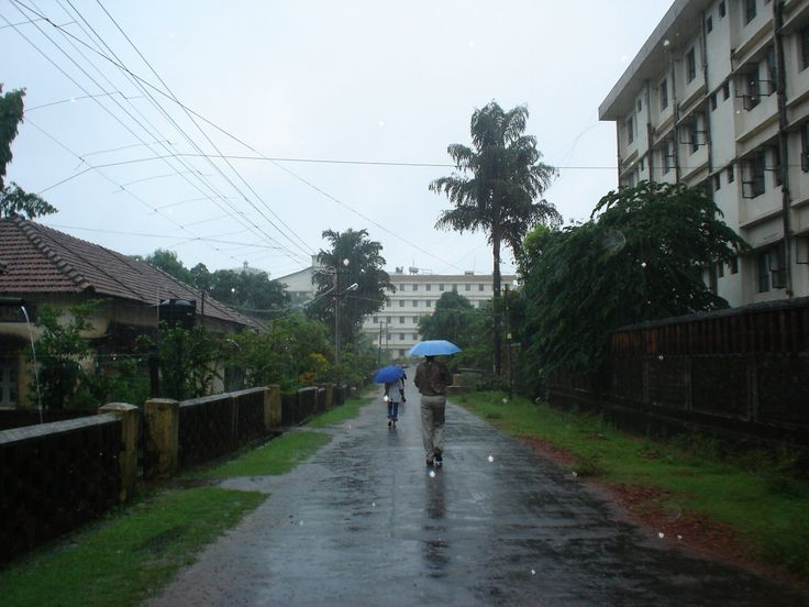 Monsoon in Manipal