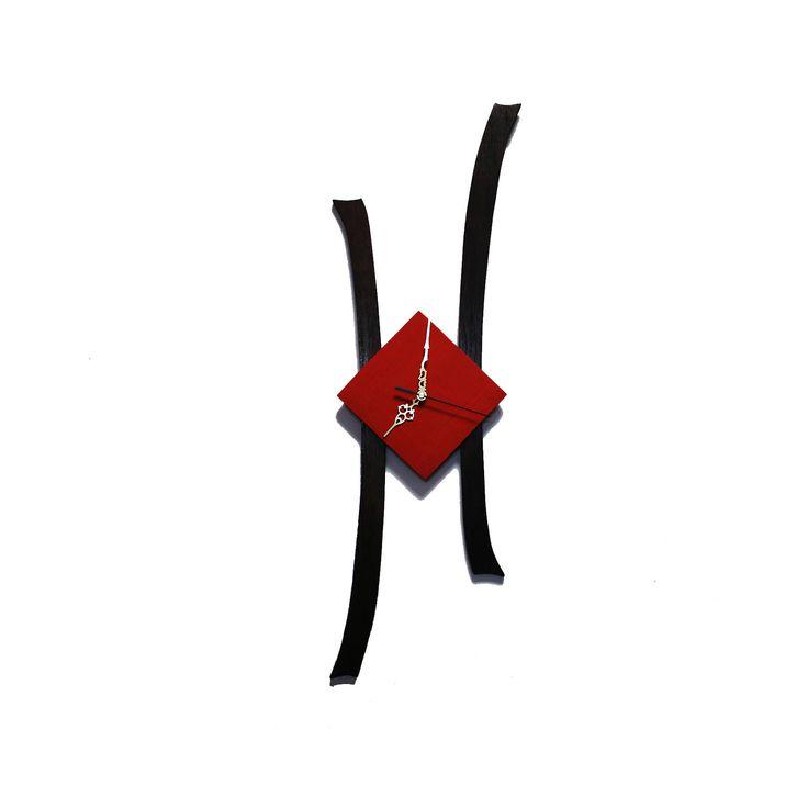 "#etsy shop: Wooden wall clock "" Modern clock "" gift for parents, gift for wife, gift for husband, gift for friends http://etsy.me/2EKi9PJ #housewares #clock #entryway #modernclock #wallclock #clockfordecor #clockforhouse #woodenwallclock #woodenclock"