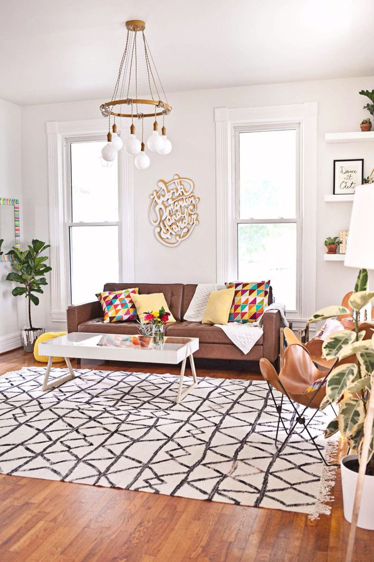 A Beautiful Mess - Studio living room tour