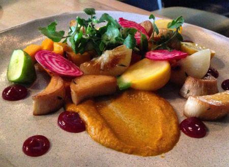 Harvest Plate at Acorn Restaurant - Wild Rose Detox
