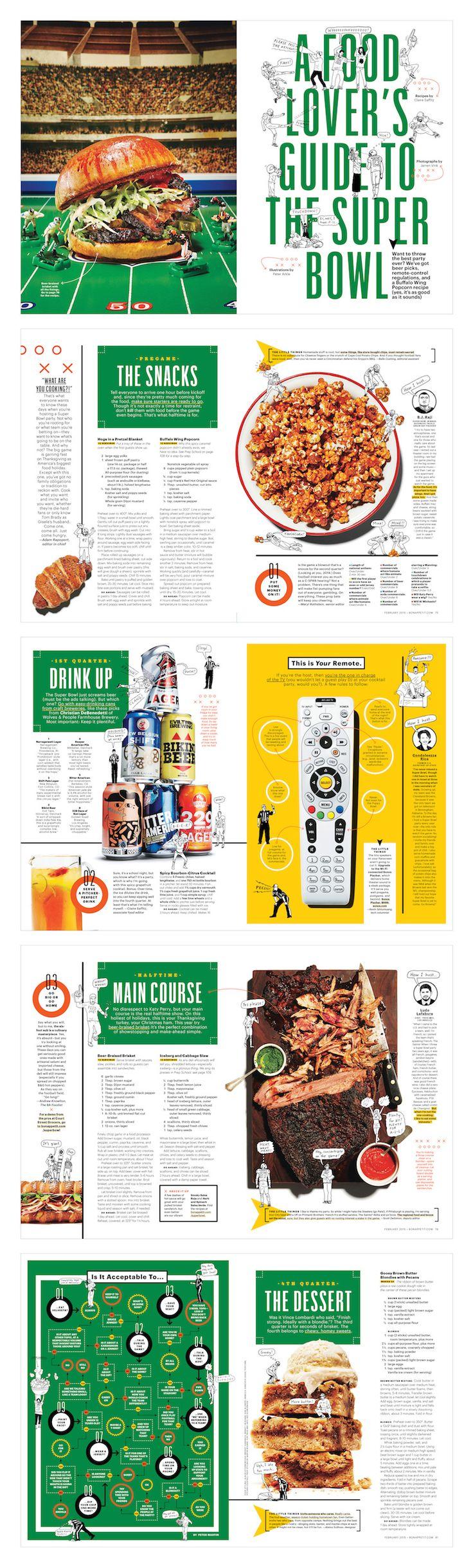 A Food Lover's Guide to the Super Bowl - Bon Appetit - Alaina Sullivan
