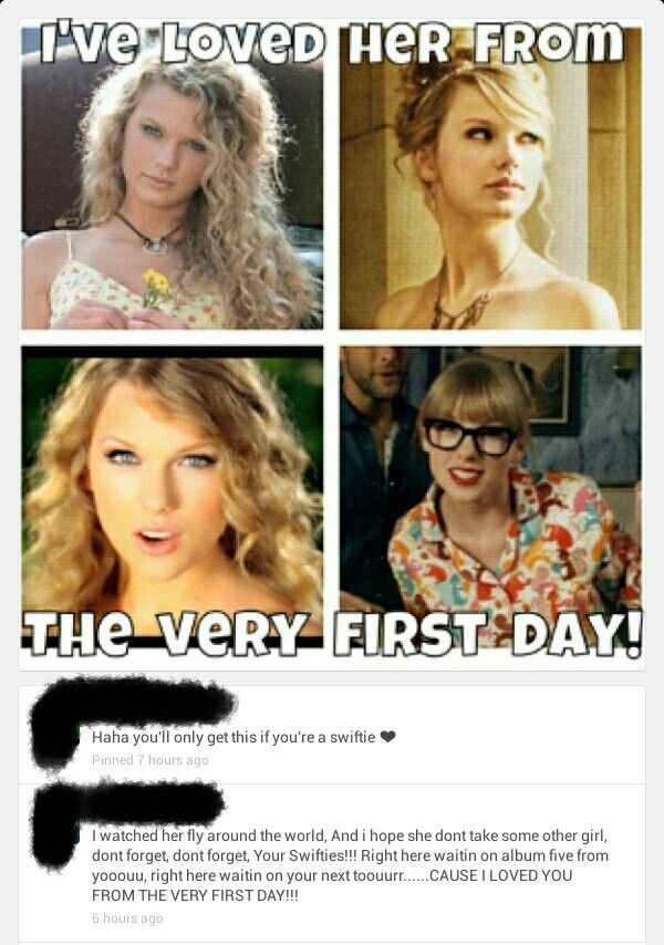 Haha....LOVE this chic!!! You'll only get this if your a swiftie! :-) :-) :-)