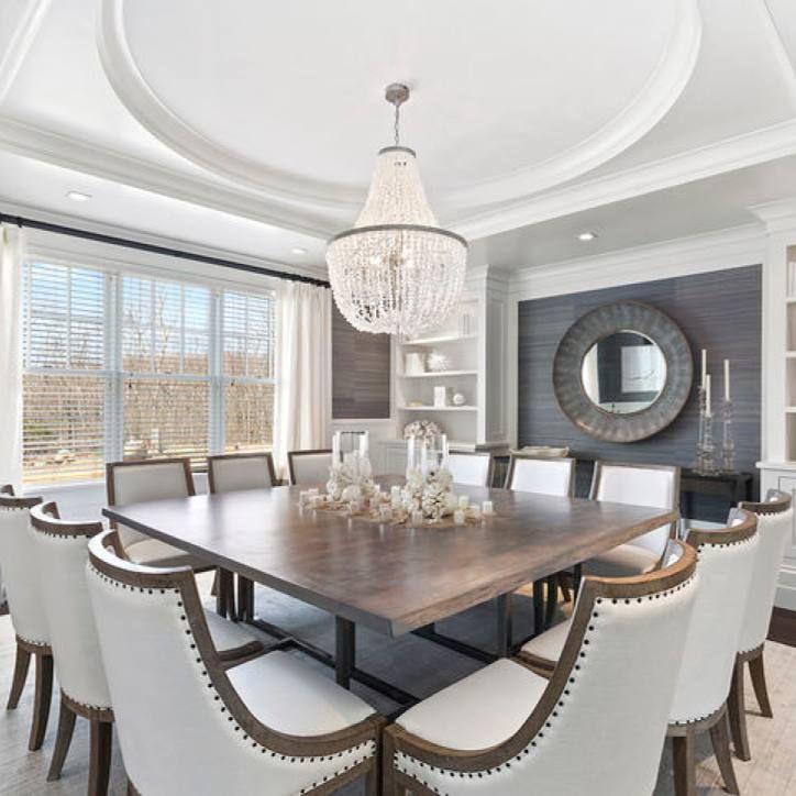 Room Redo Elegant Transitional Formal Dining Room Contemporary Dining Room Furniture Dining Room Inspiration Elegant Dining Room