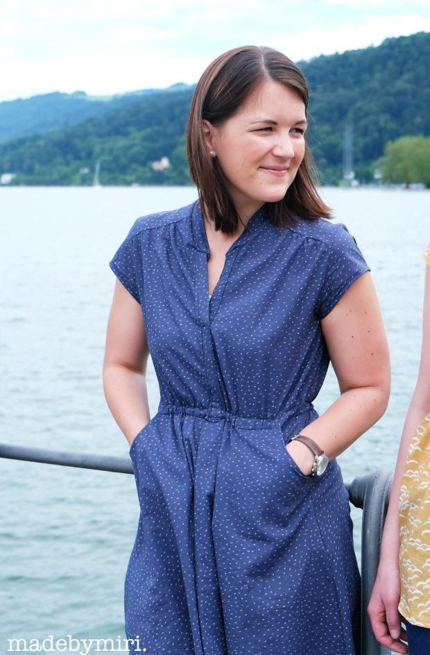 Marigold Dress meets Atelier Brunette | madebymiri