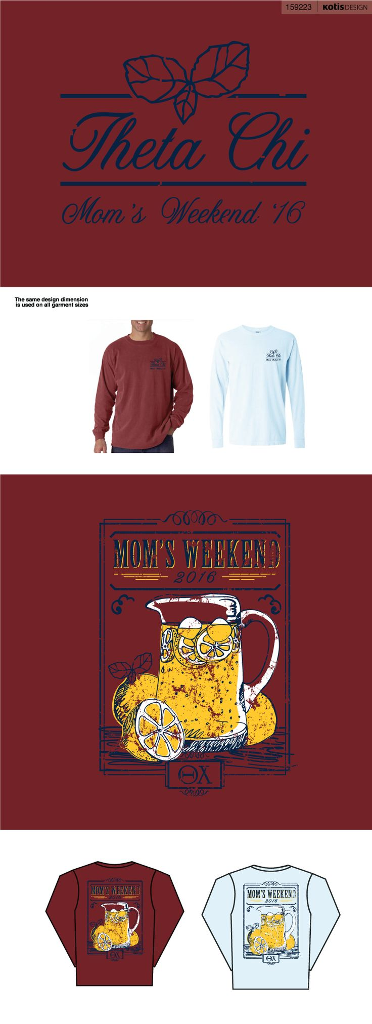 159223 - UM at Ohio Theta Chi | Mom's Weekend '16 - View Proof - Kotis Design