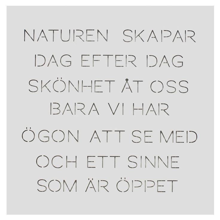 """Odla Trädgårdspoesi """"Naturen"""", Vit, Ernst Kirchsteiger"""