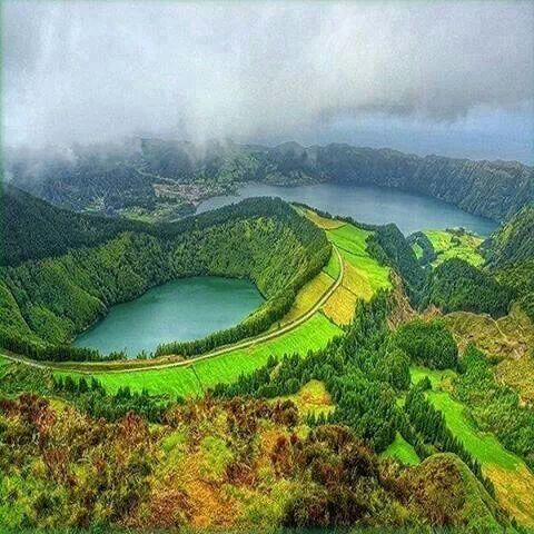 Amazing nature in S. Miguel, the Azores, Portugal