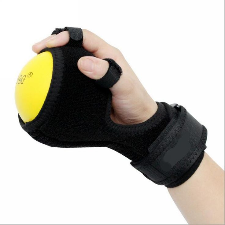 Deluxe Anti-Spasticity Ball Splint Hand Functional Impairment Finger Orthosis Hand Ball Stroke Palsy Rehabilitation Exercise #Affiliate