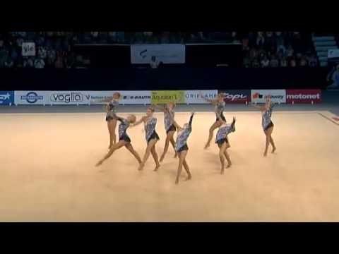 Voimistelun Sun Lahti 2013 06 08 OVO Team, Suomi. - YouTube
