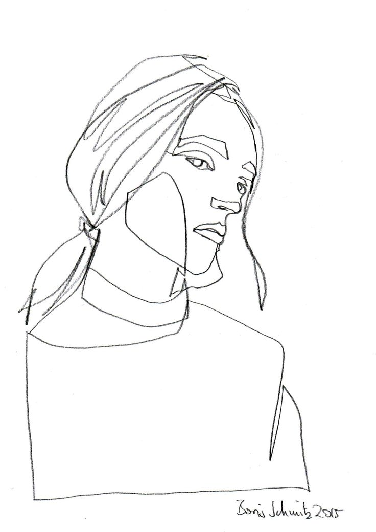 Line Drawing Portrait Tumblr : Best ideas about fashion illustration face on