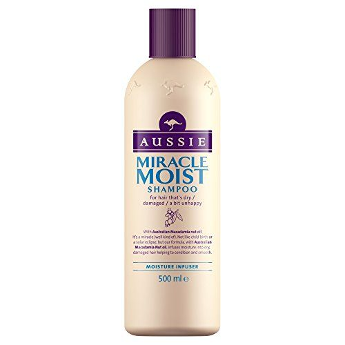 From 9.86:Aussie Shampoo Miracle Moist For Dry Damaged Hair 500 Ml