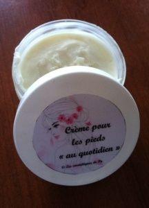 """Crème pour les pieds """"au quotidien"""""""
