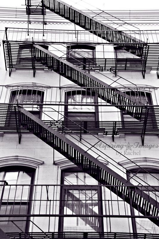 New York City Photography, Black and White Urban Wall Art, Abstract Office…