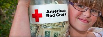 Fire sweeps through a local apartment complex, leaving residents with only the clothes on their backs. You're there. Tornadoes devastate entire neighborhoods. You're there. Floods ravage villages halfway around the world. You're there, too. Thank you to the American Red Cross for always being there. For them and for us.