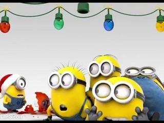 Animation Noël 2013 - Quand les Minions préparent Noël... -