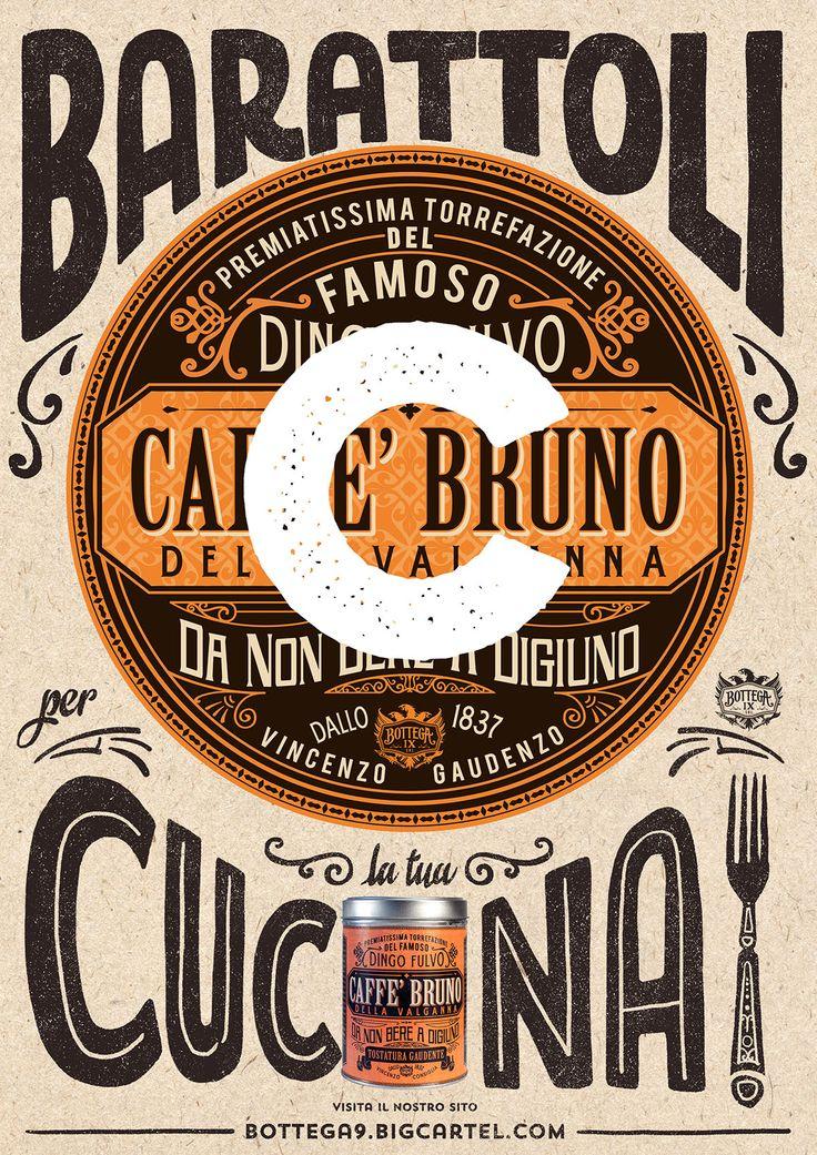 "BottegaIX Tin Postcard - ""C"" like Cucina - Tins for your Kitchen!!"