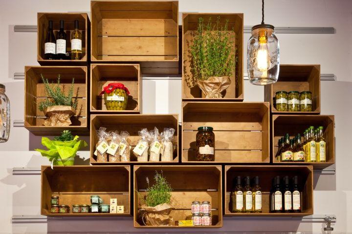 Уникальный продуктовый магазин El Bocon del prete в Италии