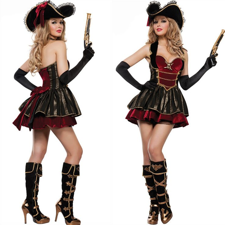 Cruel mar capitão pirata traje Fantasia de Halloween vestido de cosplay roupa                                                                                                                                                                                 Mais
