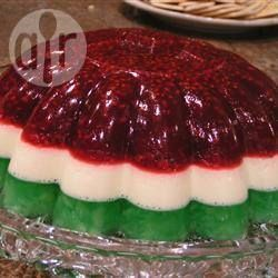 Christmas Jelly Ring @ allrecipes.com.au