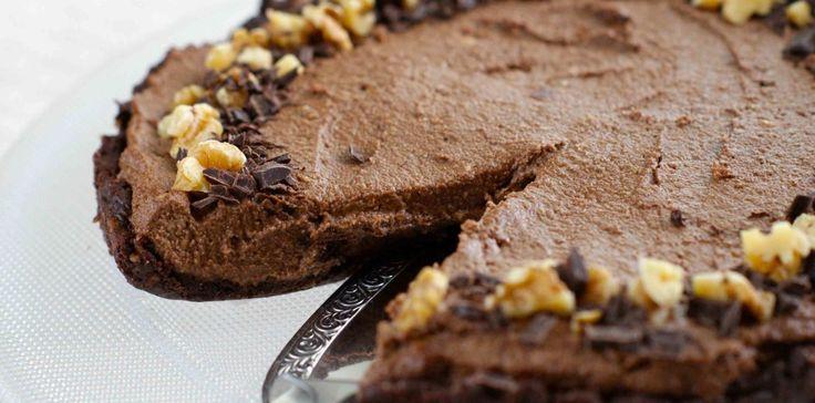 Rå sjokoladekake