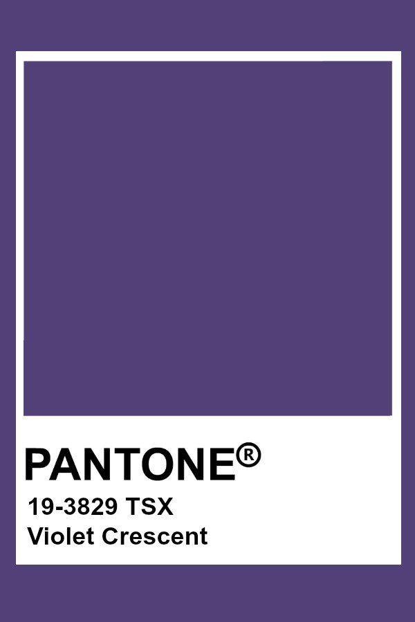 Pantone Violet Crescent Cores