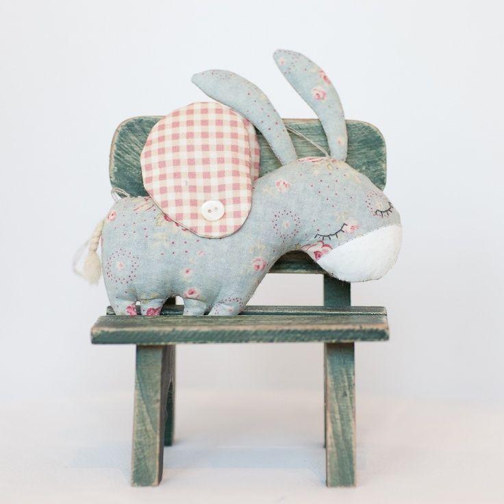 ☃ Plush Toy Preciousness ☃  darling stuffed donkey